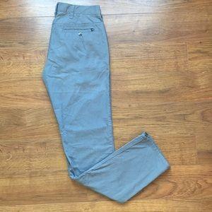Hurley Size 28 Mens Nike Dri-fit Gray blue Pant